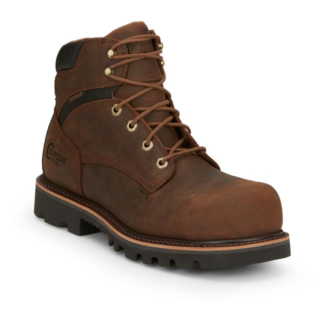 "Chippewa 6"" Sador Oblique Composite Toe"