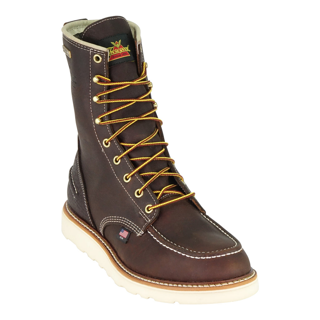 "Thorogood 8"" Moc Steel Toe Waterproof Boot #804-3800"