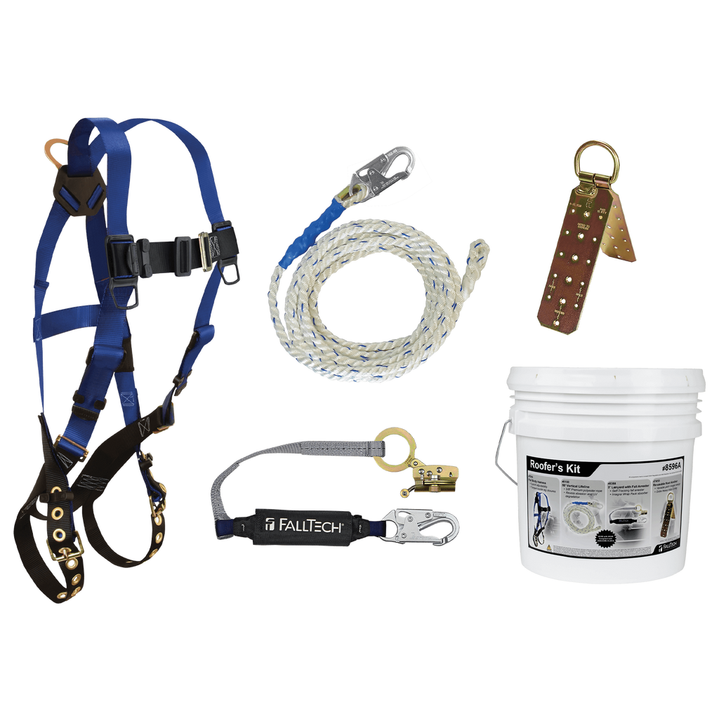 Falltech Complete Personal Fall Arrest System for Roofers(DISCONTINUED)