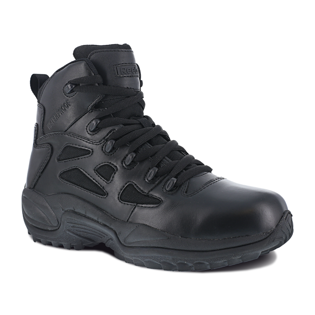 "Reebok 6"" Rapid Response Waterproof Side Zip Boot #RB8688"