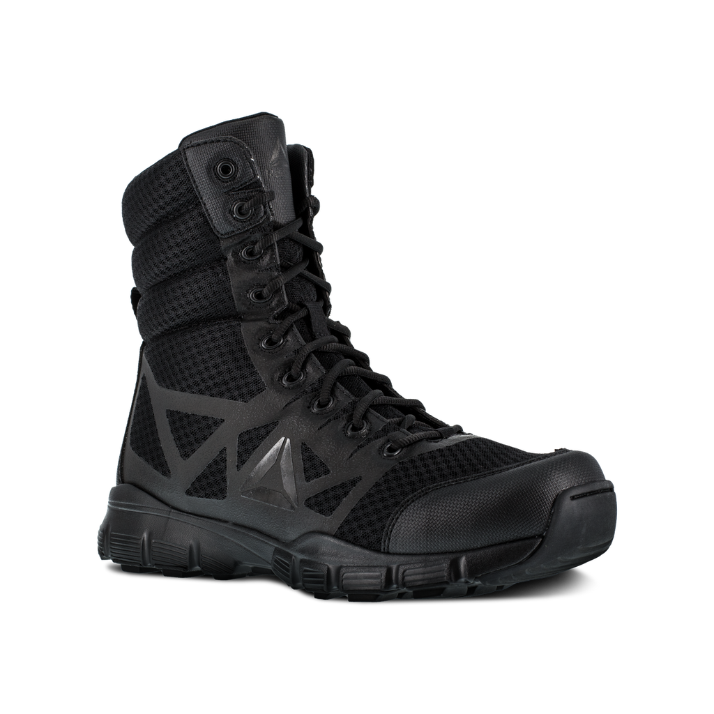 "Reebok Men's Dauntless 8"" Tactical Boot w/ Side-Zip #RB8720"