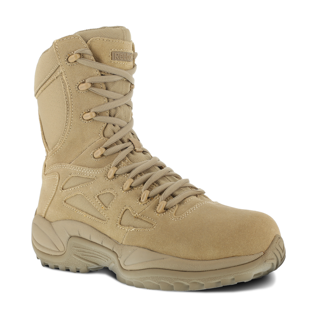 "Reebok Men's 8"" Rapid Response Comp Toe Boot #RB8894"
