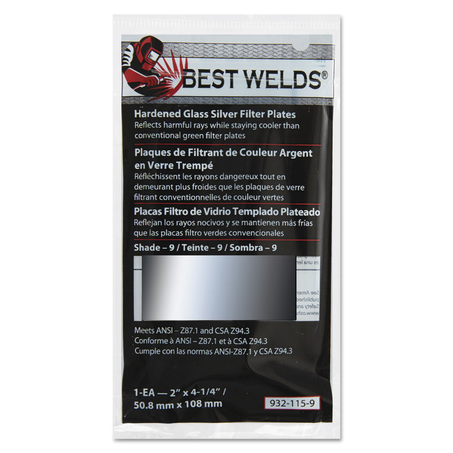 Best Welds Part       Reflects harmful rays while staying cooler than conventional green filter plates.  *Brand names may vary. Please call for more info*