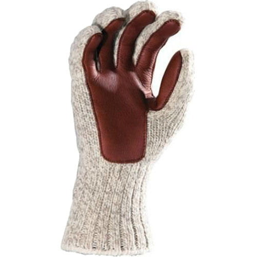 Fox River Outdoor Thermal Ragg And Leather Glove #9300