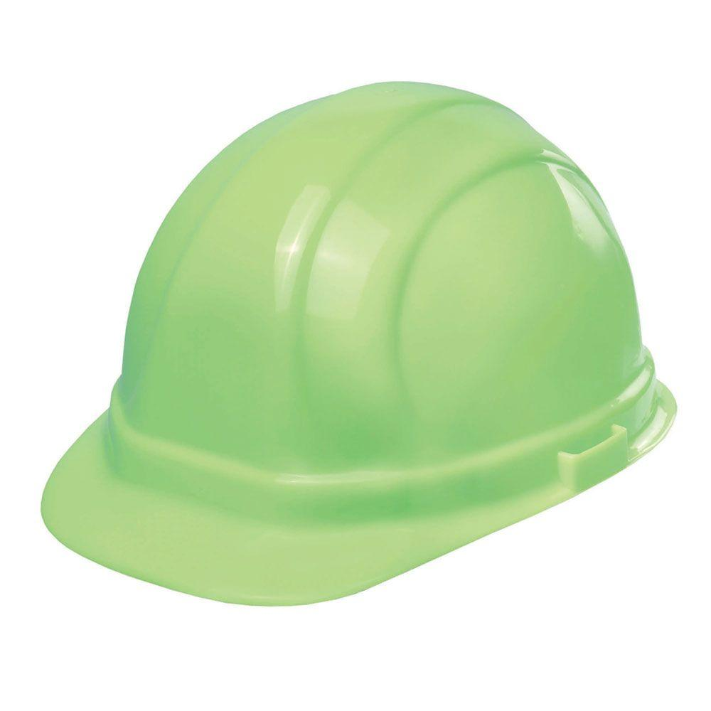 ERB Omega 2 Cap 'Glow In The Dard' Hard Hat #OMII STD GLO STK-01
