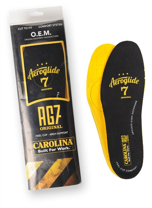 Carolina Aeroglide 7 Footbed AG7