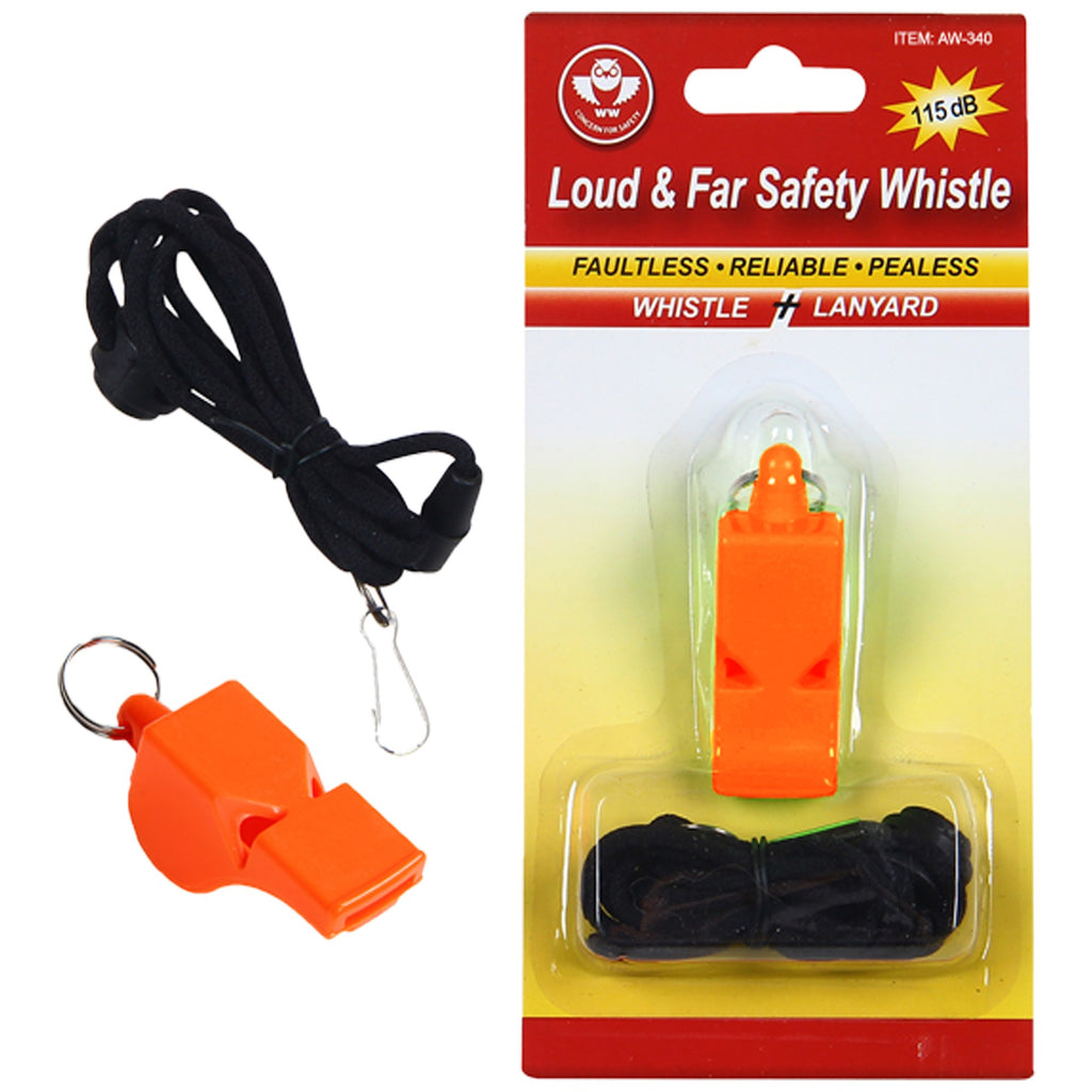 2W SAFETY WHISTLE