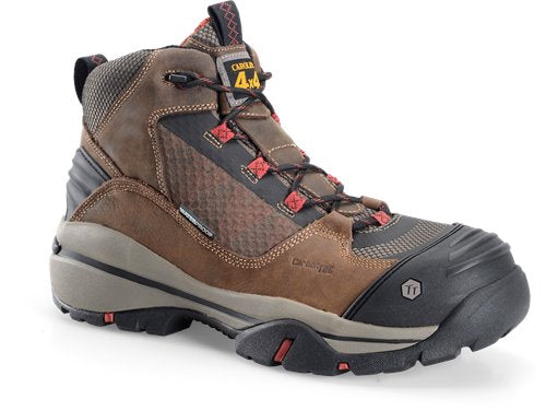 Carolina brown leather hiking boot