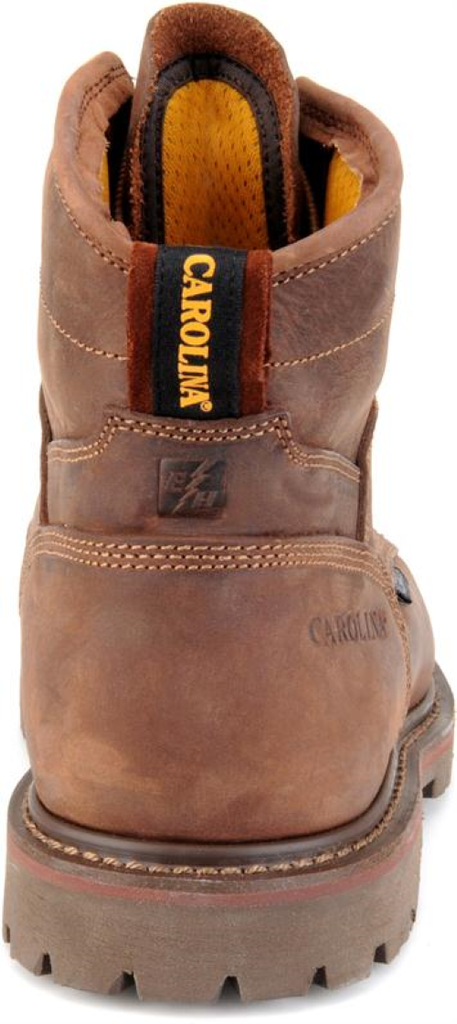 "Carolina 6"" Waterproof Composite Toe Grizzly Work Boot #CA7528"