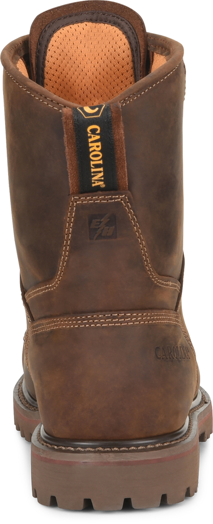 "Carolina 8"" Waterproof Composite Safety Toe Work Boot #CA8528"