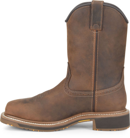 "Carolina Men's 10"" Anchor Waterproof Composite Square Toe Roper #CA8536"