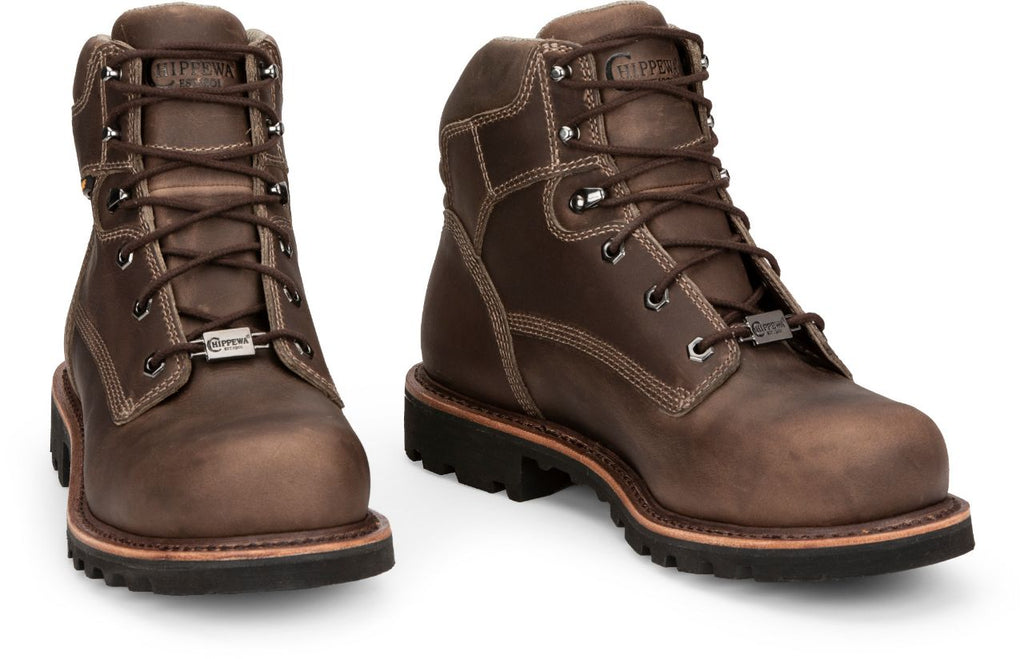 "Chippewa Bolville 6"" Men's waterproof Nano Comp Toe Work Boot ""NEW RELEASE"""