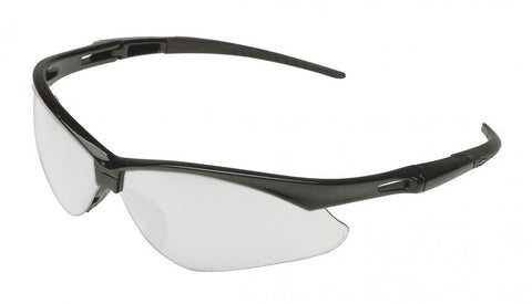 NEMESIS CLEAR LENS SAFETY GLASSES WITH CORD