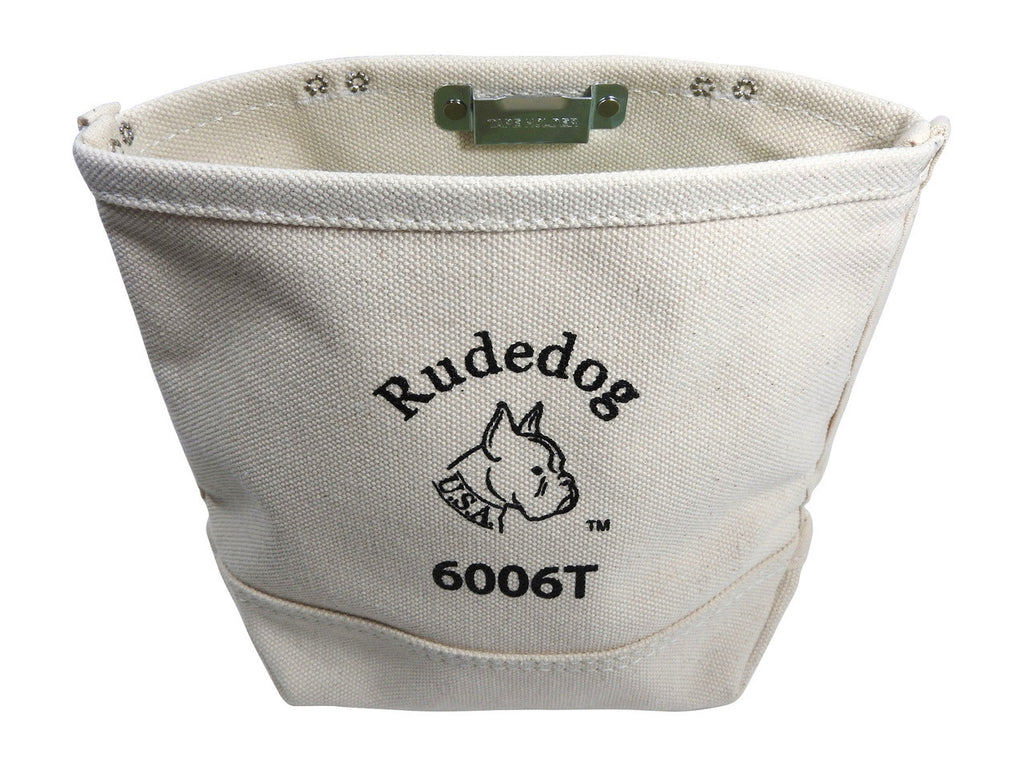 RUDEDOG USA CANVAS BOLT BAG W/ TAPE HOLDER 6006T-TH