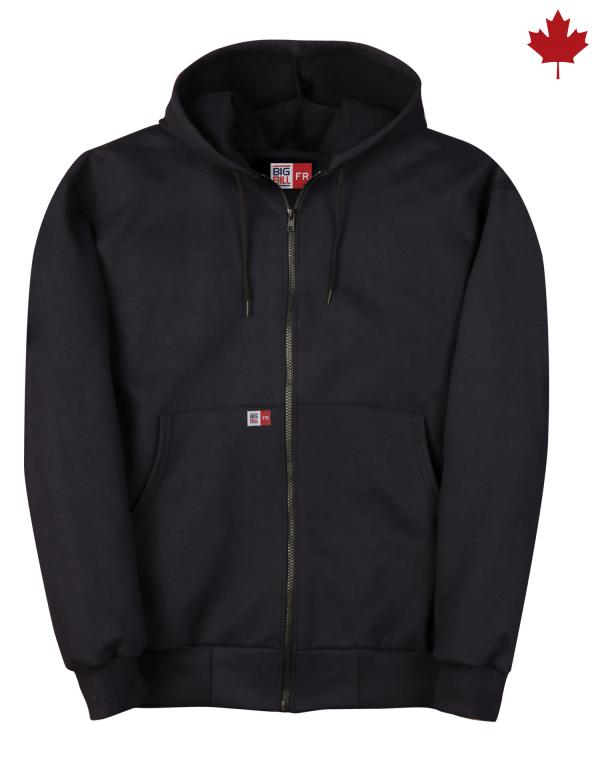 Big Bill FR Hooded Zip-Front Sweatshirt #DW17S11