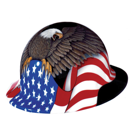 Fibre Metal 'Spirit Of America' Full Brim Hard Hat #E1RW00A006