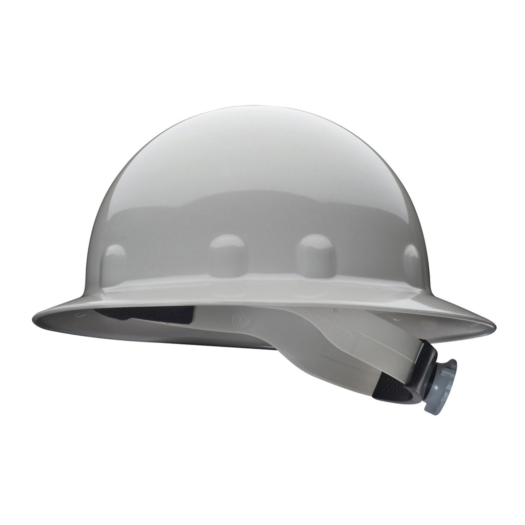 Fibre Metal E1RW Full Brim Hard Hat - Ratchet Suspension