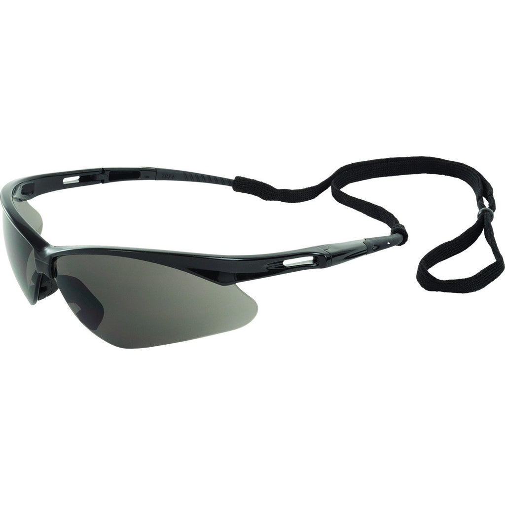 ERB Octane Black Gray Safety Glasses #15326