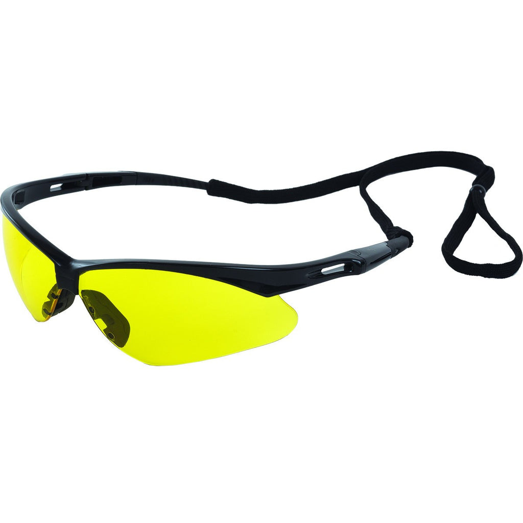 ERB Octane Black Amber Safety Glasses #15328