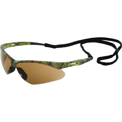 ERB OCTANE CAMO BROWN ANTI FOG SAFETY GLASSES #15337