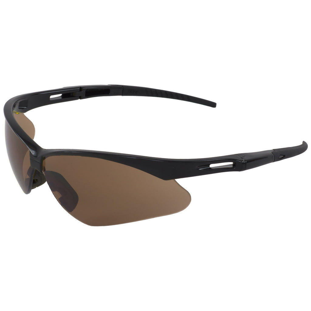 ERB Octane Black Brown Safety Glasses #15344