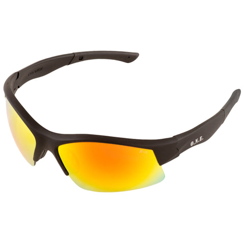 ERB BREAKOUT RED MIRROR SAFETY GLASSES #10813