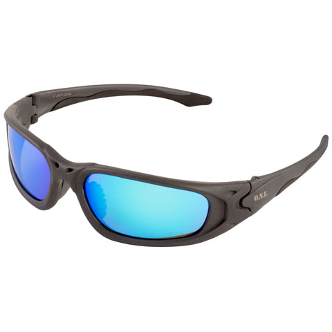 ERB ONE NATION EXILE BLUE MIRROR SAFETY GLASSES #18017