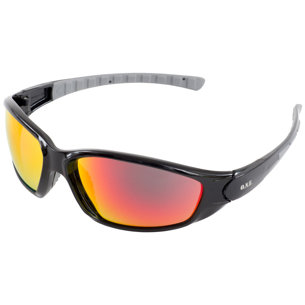 ERB One Nation Ammo Sport Red Lens Safety Glasses #18041