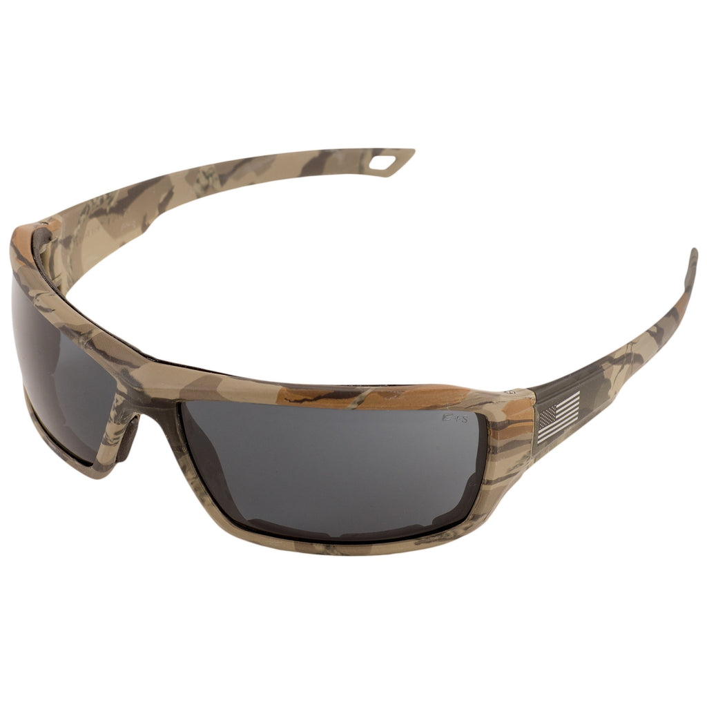ERB Live Free Camo Smoke Lens Safety Glasses #18042