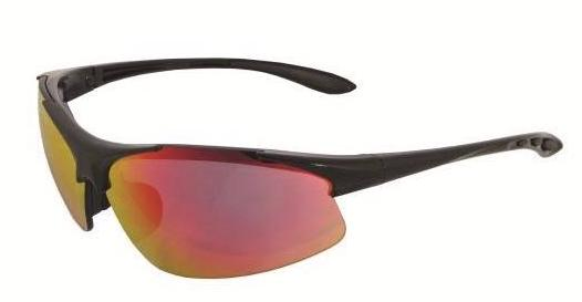 ERB Commandos Red Revo Safety Glasses #18611