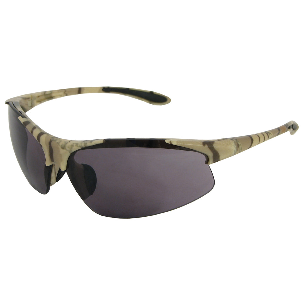 ERB Commandos Camo Smoke Safety Glasses #18615