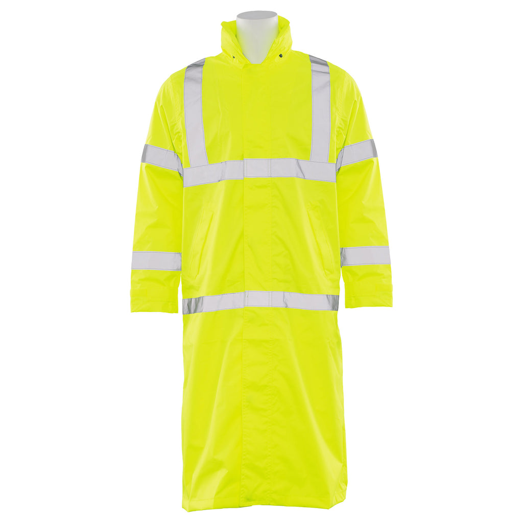 ERB Class 3 Long Raincoat Lime #S163