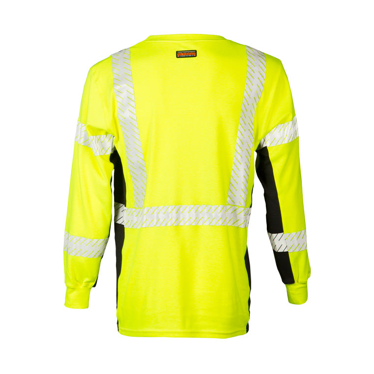 ML Kishigo Hi Vis FR Long Sleeve T-Shirt #F406