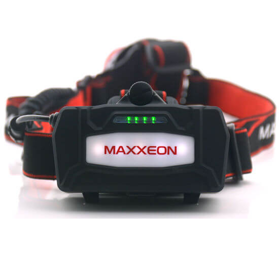 MAXXEON WorkStar® 630 TECHNICIAN'S RECHARGEABLE HEADLAMP WITH BATTERY INDICATOR