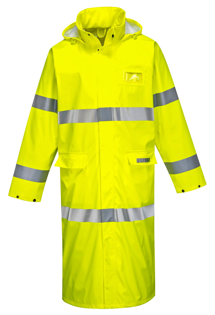PORTWEST SEALTEX FLAME FR HI-VIS COAT 50″