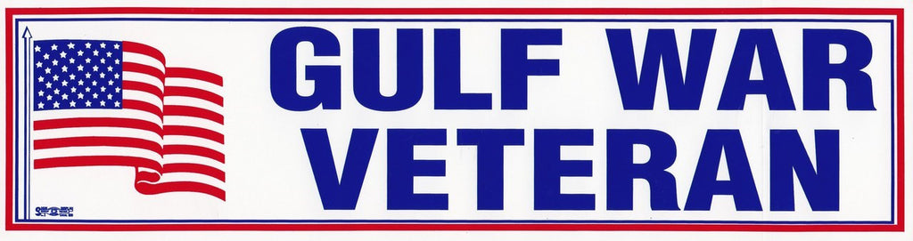 Gulf War Veteran Bumper Sticker