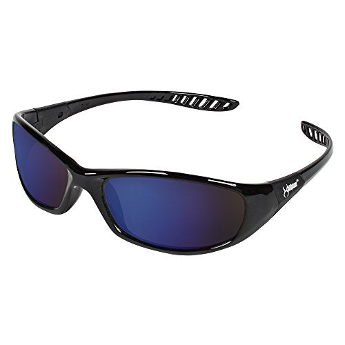 Hellraiser Blue Mirror Lens Safety Glasses #20543