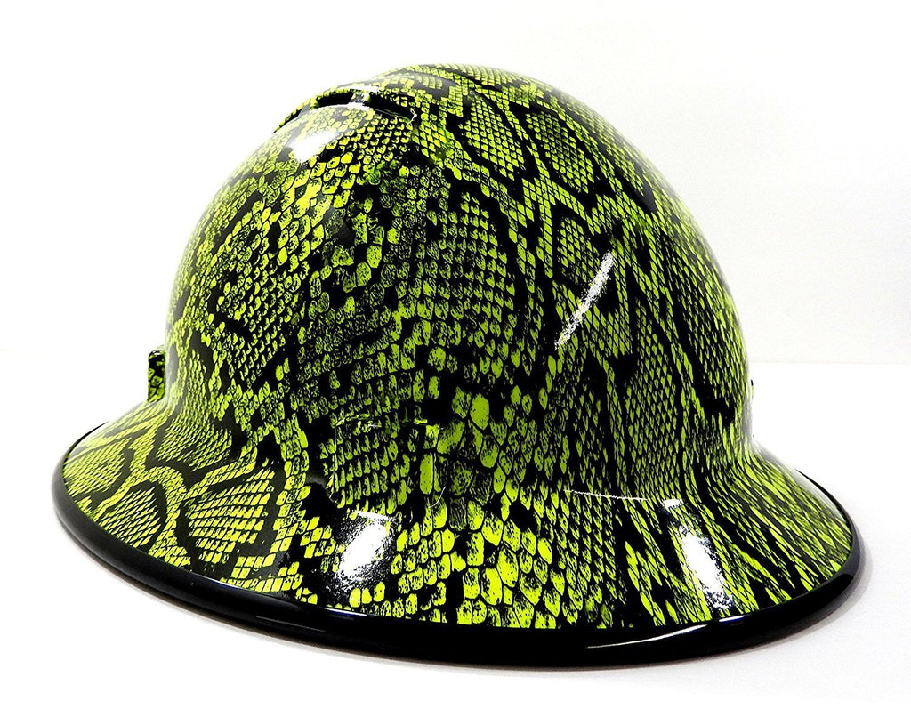 Hhg Custom Vented Full Brim Hard Hat Python Hard Hat Gear