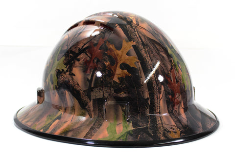 acee741effd HHG Custom Vented Full Brim Hard Hat  Camo