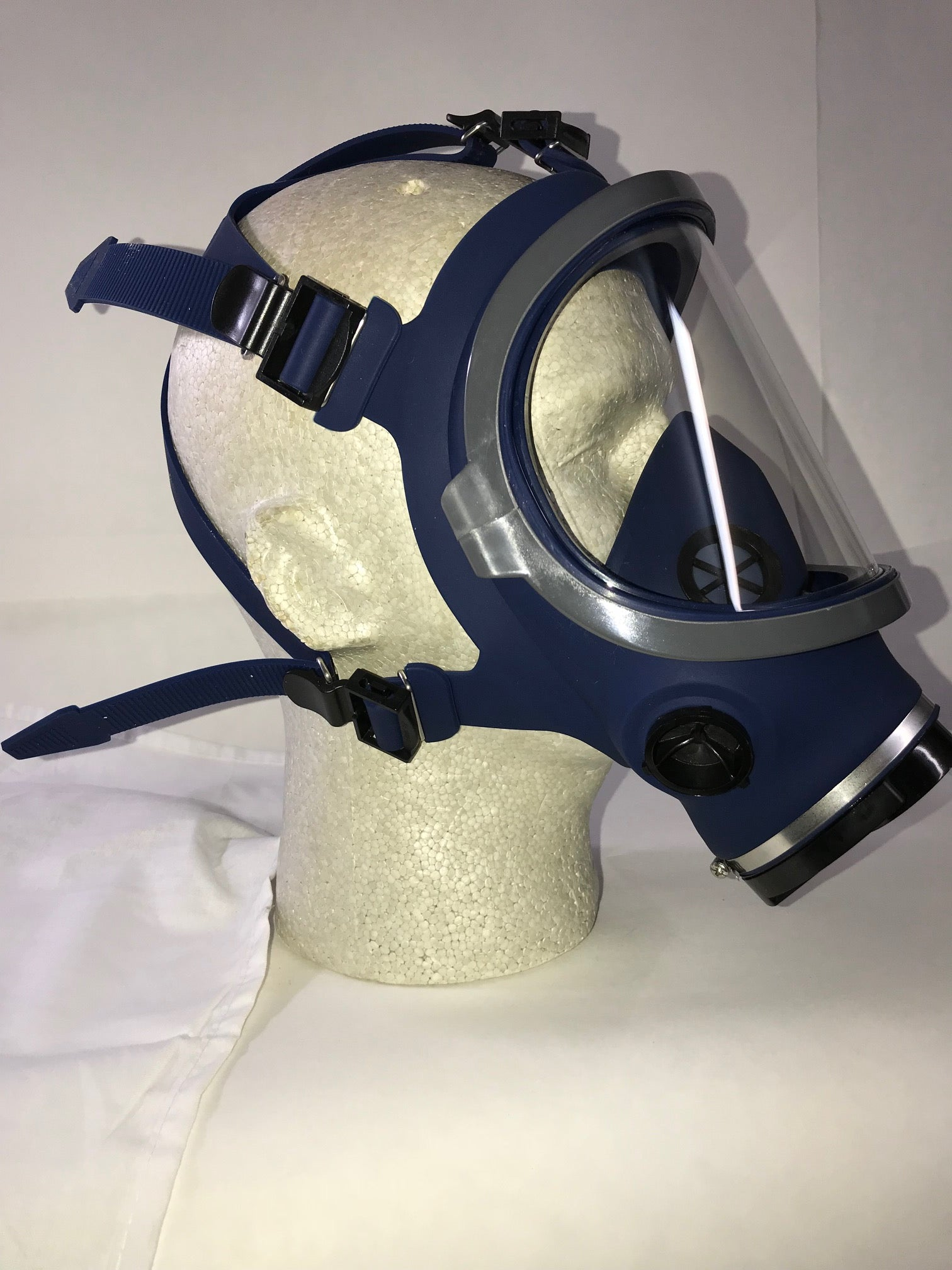 Dentec Safety 120 Silicone Full Face Respirator Hard Hat