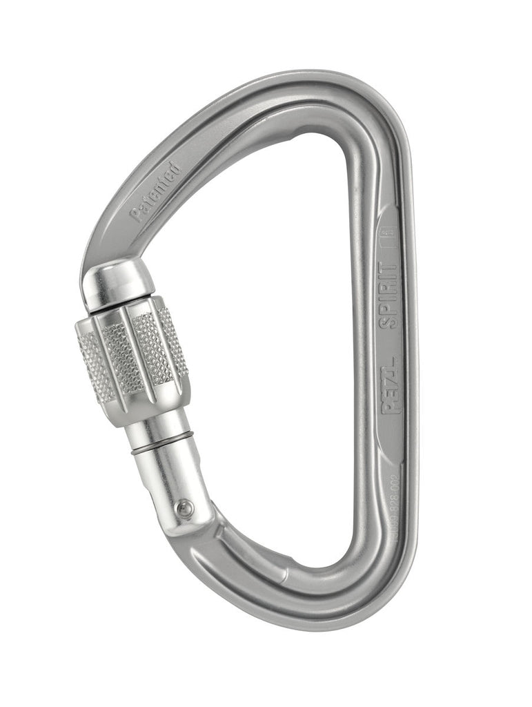Petzl SPIRIT SCREW-LOCK Caribiner