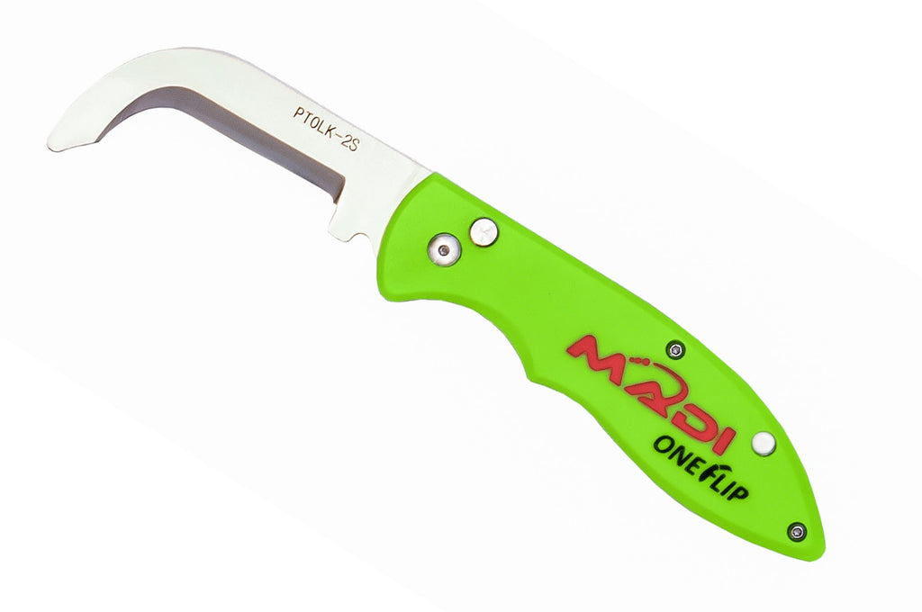 MADI One Flip Lineman Knife - Safety Blade PTOLK-2S