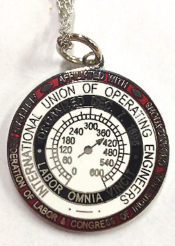 Operating Engineers Necklace