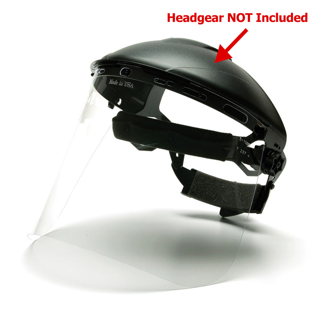 Pyramex Molded Faceshield Replacements