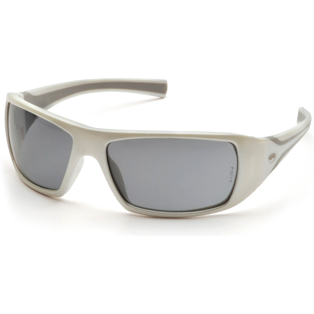 Pyramex Goliath White Frame Gray Lens Safety Glasses #SW5620D