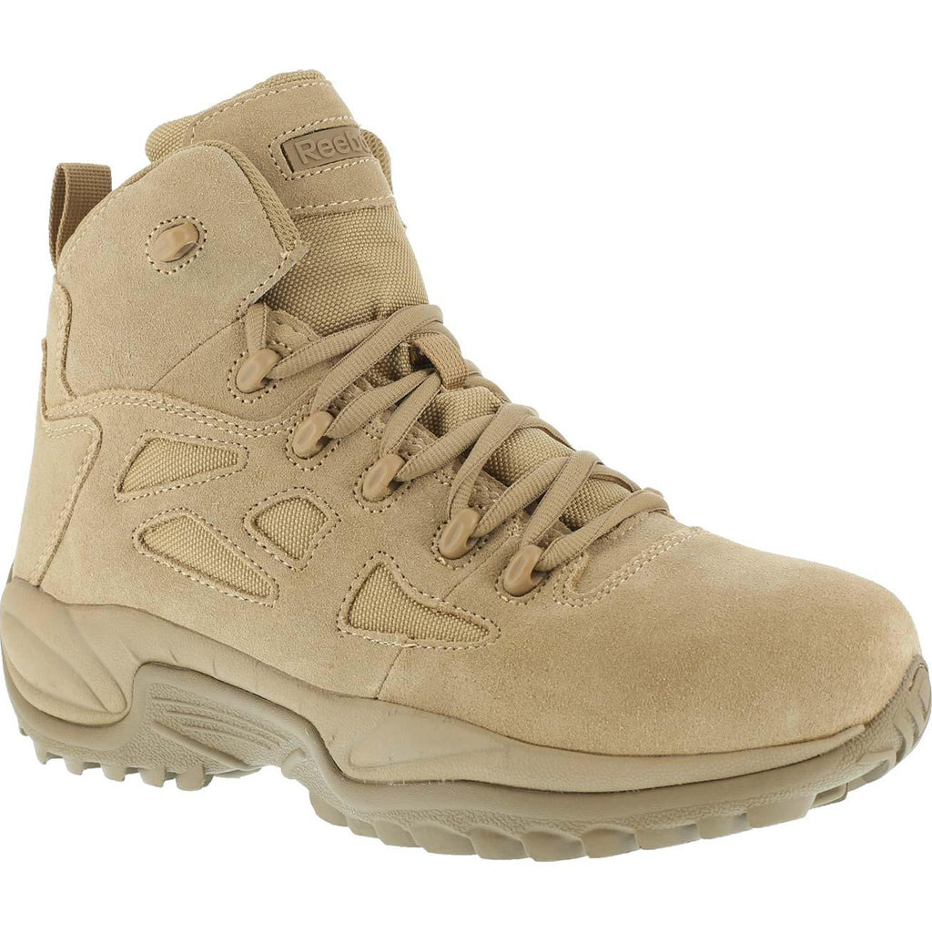 "Reebok Rapid Response 6"" Soft Toe Side Zip Boot #RB8695"