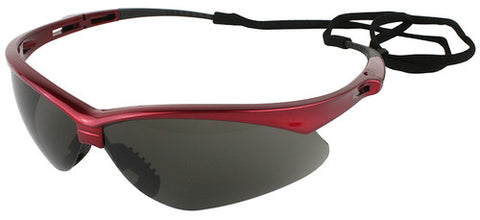 NEMESIS INFERNO SMOKE SAFETY GLASSES WITH CORD