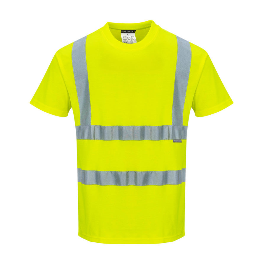 Portwest Cotton Comfort Short Sleeved T-Shirt