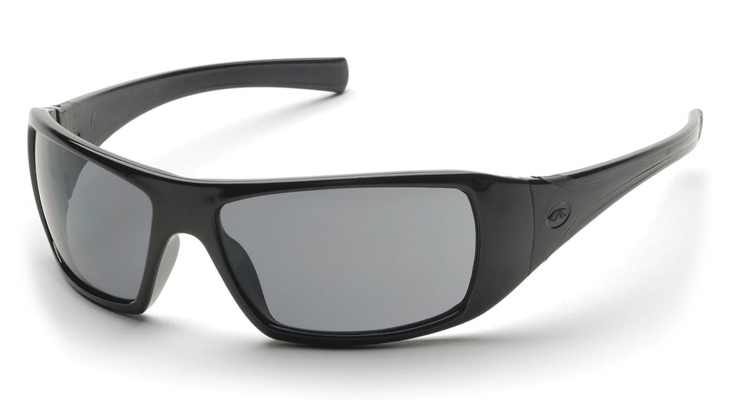 Pyramex Goliath Black Gray Lens Safety Glasses #SB5620D