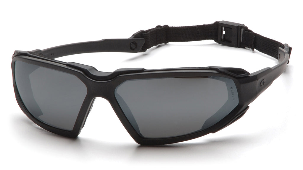 Pyramex Highlander Black Smoke Lens Safety Glasses